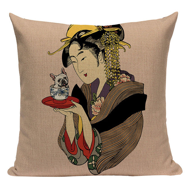 Japanese Cushion Covers