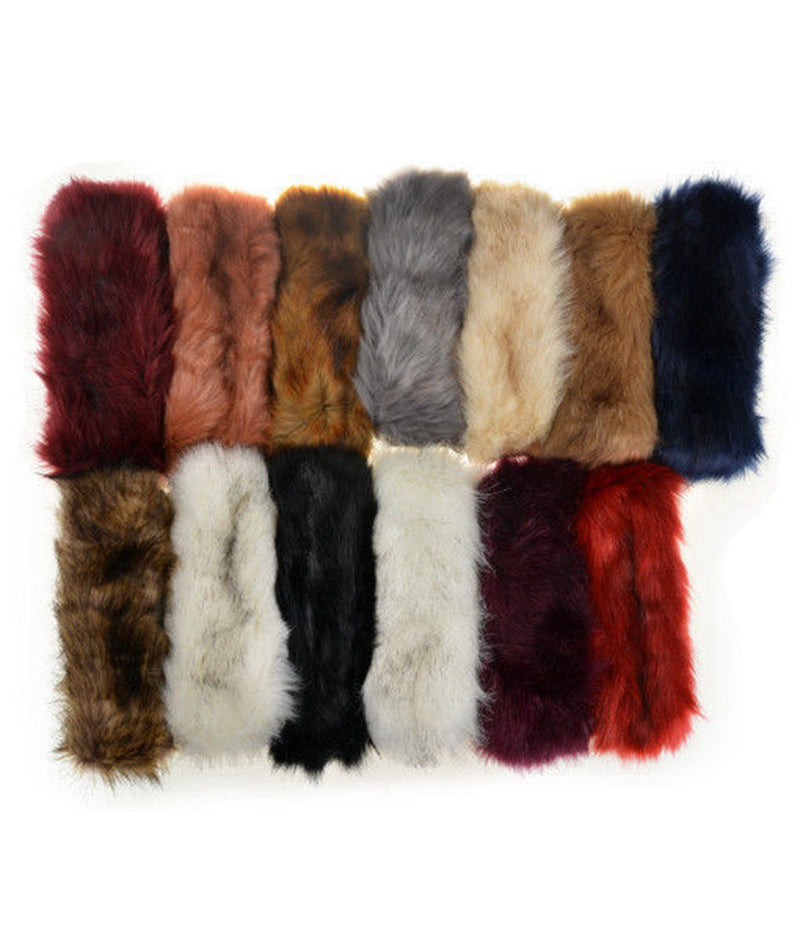 New Fur Headbands Gender Neutral Mens Womans Teens Teenagers Hair Head Band Teenager