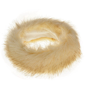 New Yellow Fur Headbands Gender Neutral Mens Womans Teens Teenagers Hair Head Band Teenager