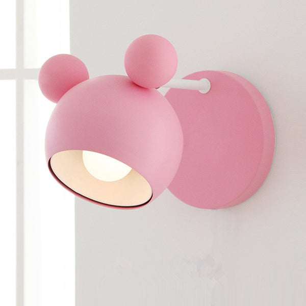 svitz Japanese kindergarten novelty Cartoon Pink wall lamps