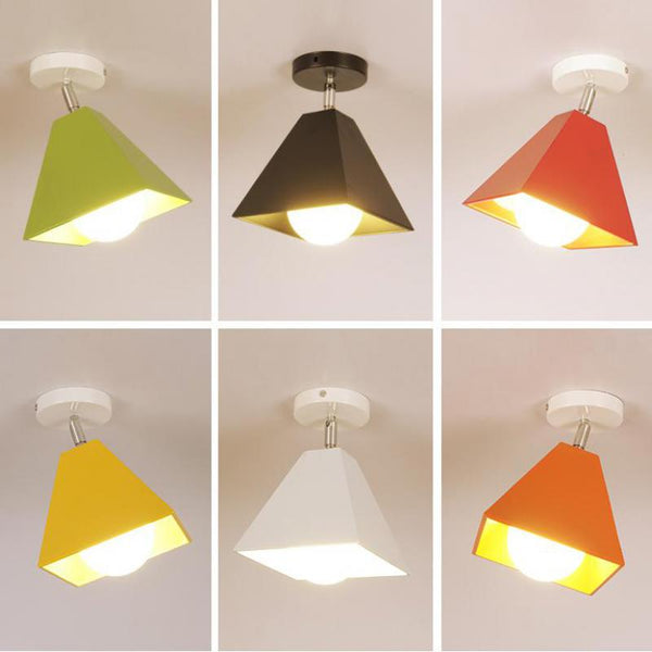 kindergarten colorful Japanese ceiling lamps
