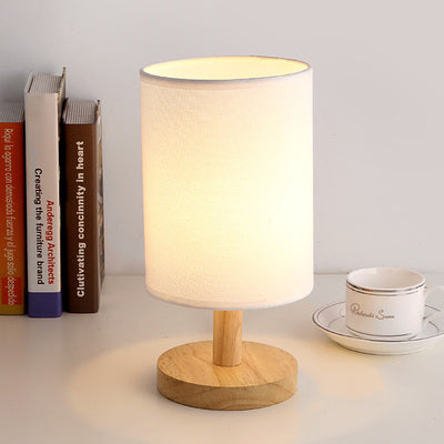 The Japanese Nordic Cream bedroom lamp