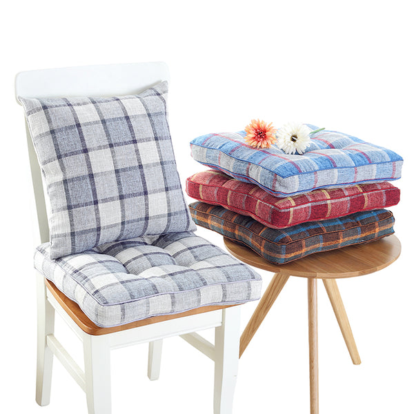Japanese thick plaid tatami cushions