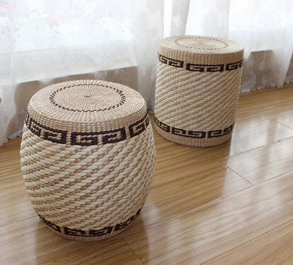 Japanese Straw Braid Tatami Cushion