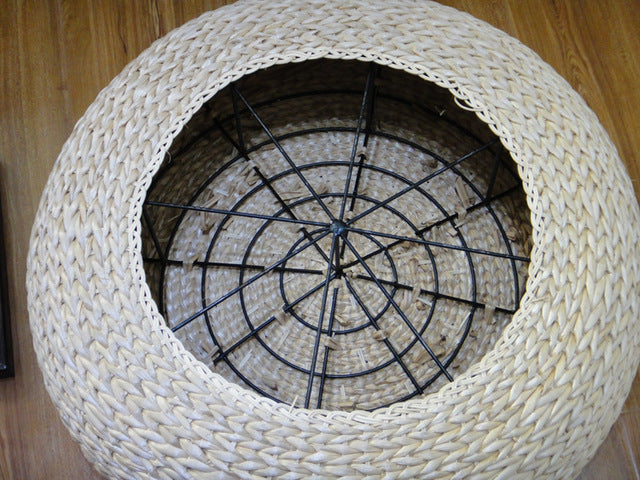 Japanese Tatami Hand Made Pouf Cushion