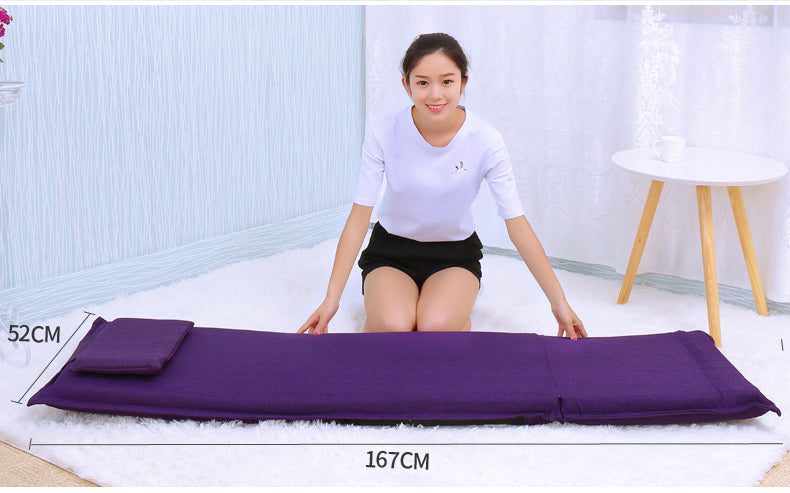Japanese tatami backrest chair Bed