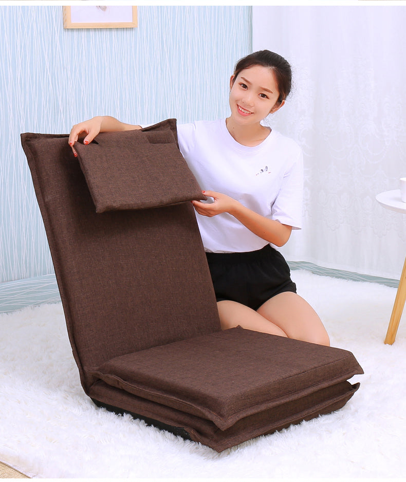 Japanese tatami backrest chair bed mat
