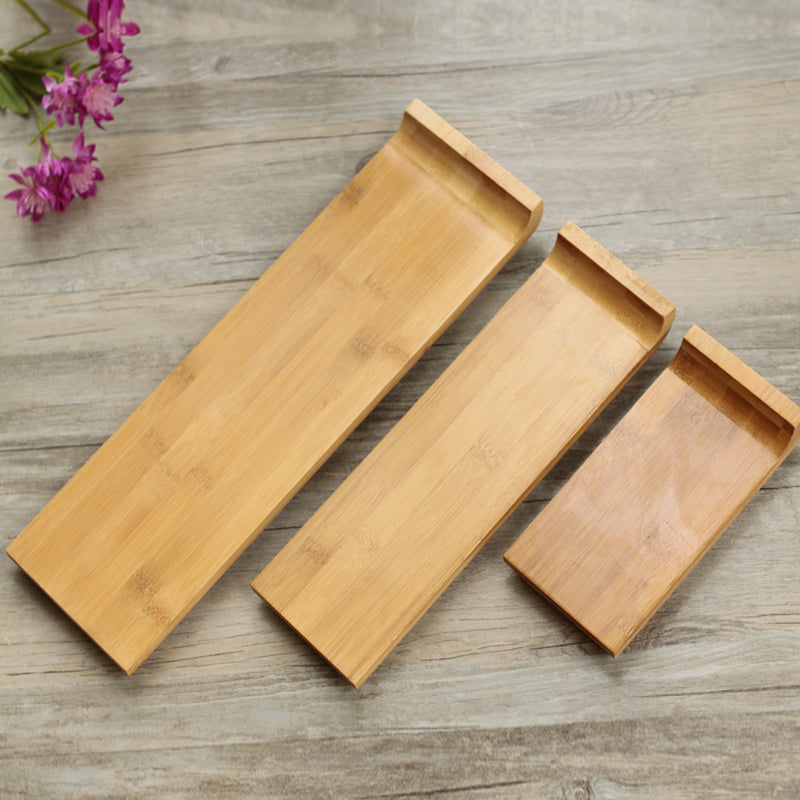Japanese Bamboo Sushi Tray Plates Japan Dinner Plate Wood Serving Board Dinnerware Tableware Accessories Style C