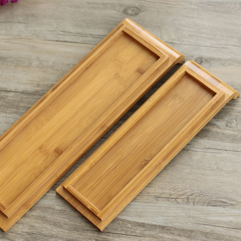 Japanese Bamboo Sushi Tray Plates Japan Dinner Plate Wood Serving Board Dinnerware Tableware Accessories Style D