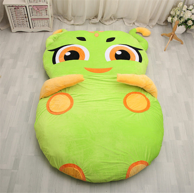 Anime Japanese Green Giant Owl Animal Sofa Mattress Japan Tatami Pad Bed Style