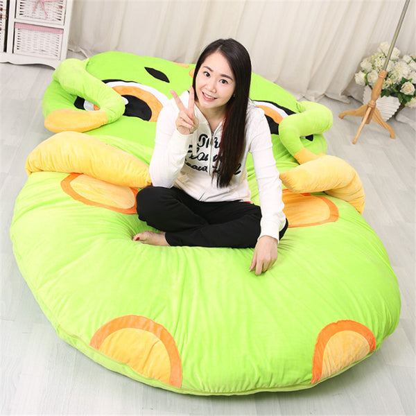 Anime Japanese Green Giant Owl Animal Sofa Mattress Japan Tatami Pad Bed