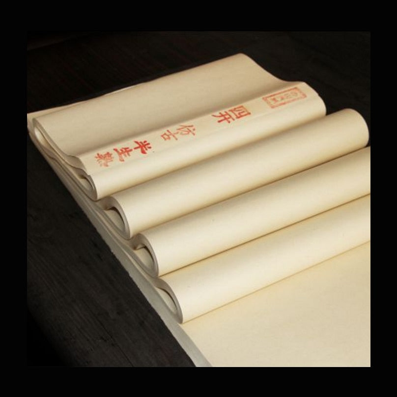 Trendy Chinese Archaize color Rice Paper for Painting Calligraphy paper for Painting Art paper Supplies