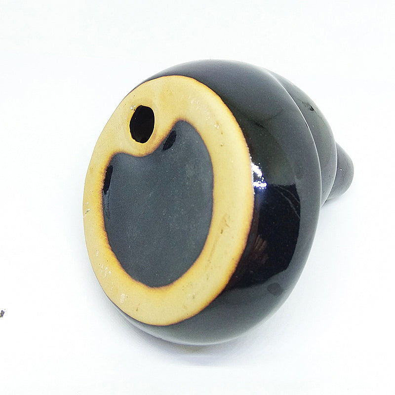 Handmade Black Circling Ceramic Backflow Incense Burners Cone Incense Holders Home Decor Aromatherapy Accessories Style Relax