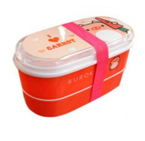 Kids Bento Lunch Boxes Orange Carrot Bento Box Style M