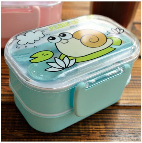 Kids Bento Lunch Boxes Blue Bento Box Style E