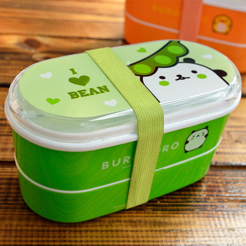 Kids Bento Lunch Boxes Green Bean Bento Box Style L