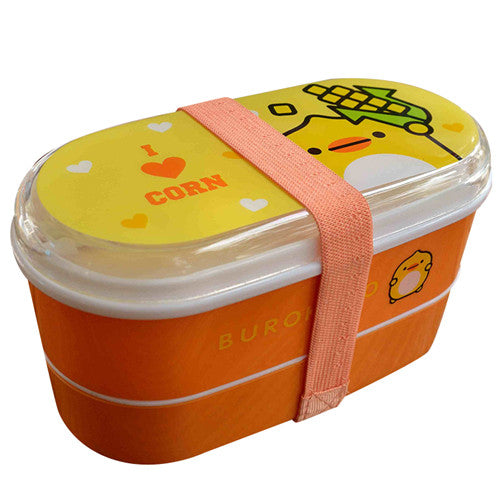 Kids Bento Lunch Boxes Brown Coffee Bento Box Style P