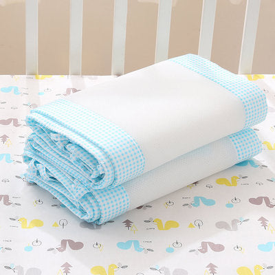 Newborn Baby Blue Safety Crib Cot Bumpers Mats Babies Bedroom Bedding Sets
