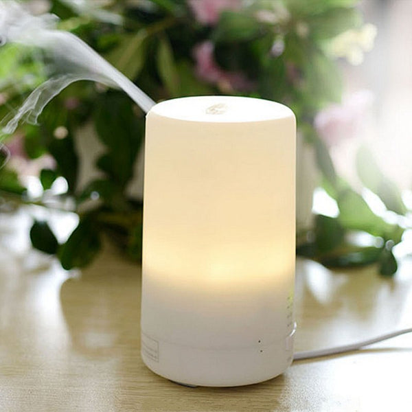 3 in 1 USB LED Night Light Essential Oil Air Humidifier White Diffuser Aromatherapy Home Decor Accessories Style