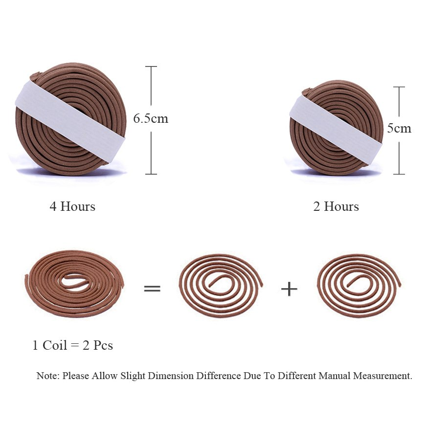 40 Pieces Vietnamese Huian Incense Coils Vietnam Incense Sticks Yoga Wellness Aromatherapy Home Decor Accessories JPN Size Chart