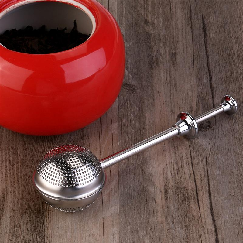 Stainless Steel Tea Strainer Ball shape Mesh Tea Infuser Spice Tool Kitchen Accessories Style