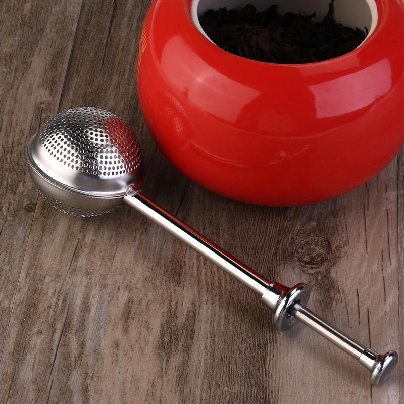 Stainless Steel Tea Strainer Ball shape Mesh Tea Infuser Spice Tool Accessories Style Modern