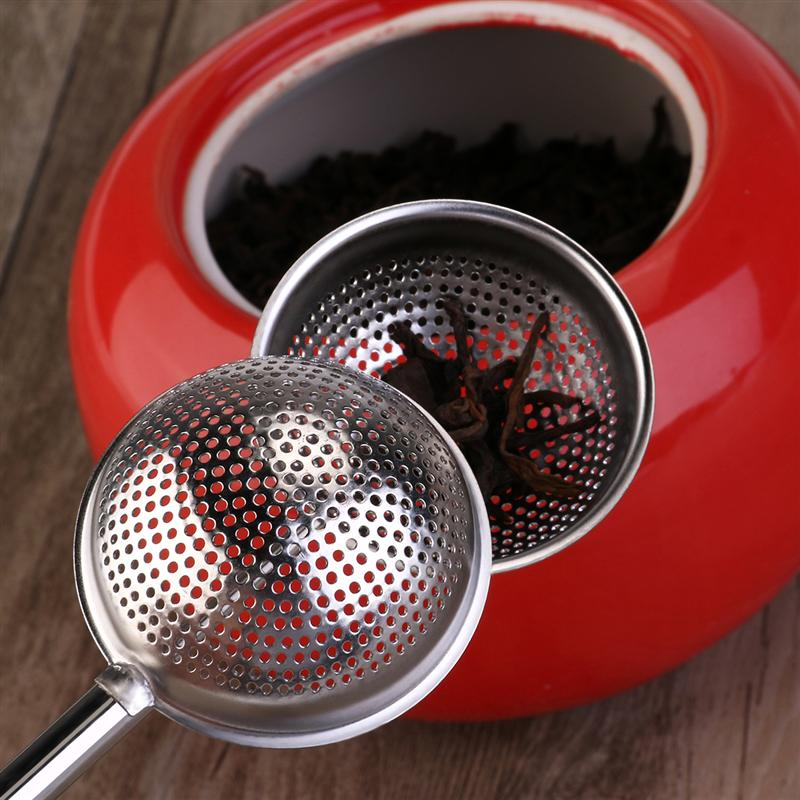 Stainless Steel Tea Strainer Ball shape Mesh Tea Infuser Spice Tool Accessories Style Traditional