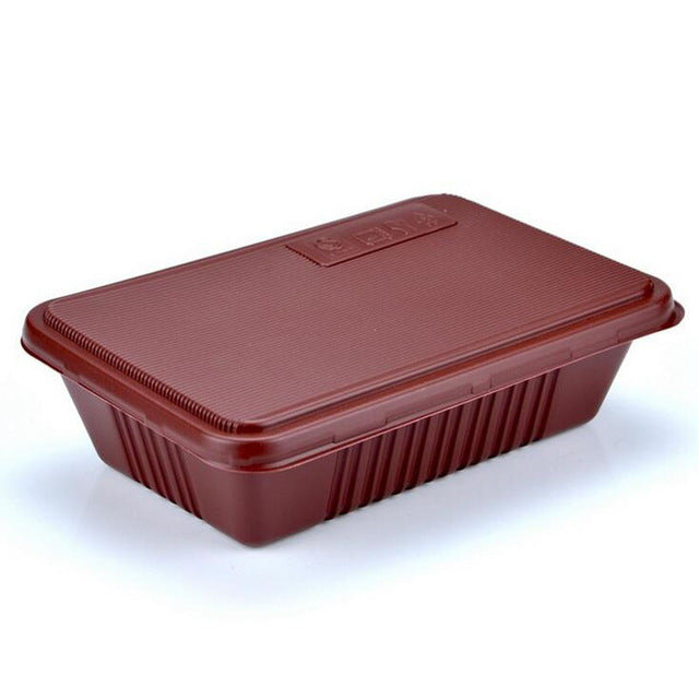 300 Piece Japanese Microwave Solid Brown Bento Boxes Party Catering Event Lunch Box Japan
