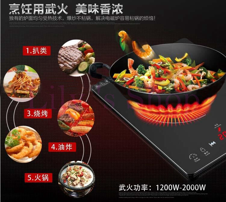 Mini Electric Ceramic Induction Cooker Information B