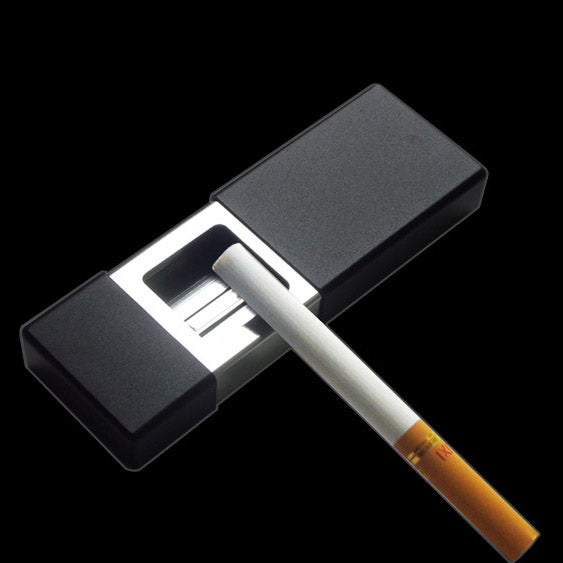 Japanese Black Pocket Ashtray portable Cigarette Cigar Ashtrays Japan