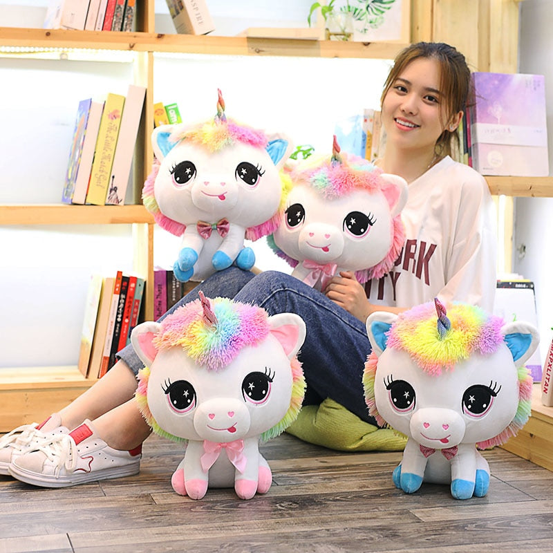 Anime Unicorn Plush Doll