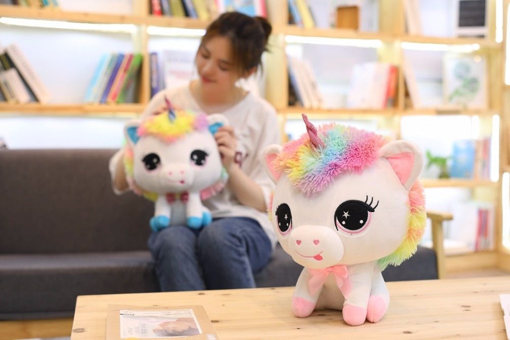 Japanese Anime Unicorn Plush Doll Toy