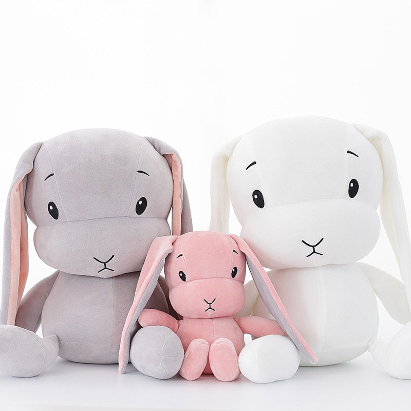 Anime Kawaii 30cm / 50cm cute rabbit plush Doll toy stuffed soft rabbit dolls baby kids toys animal toy birthday christmas valentine gift for lover child