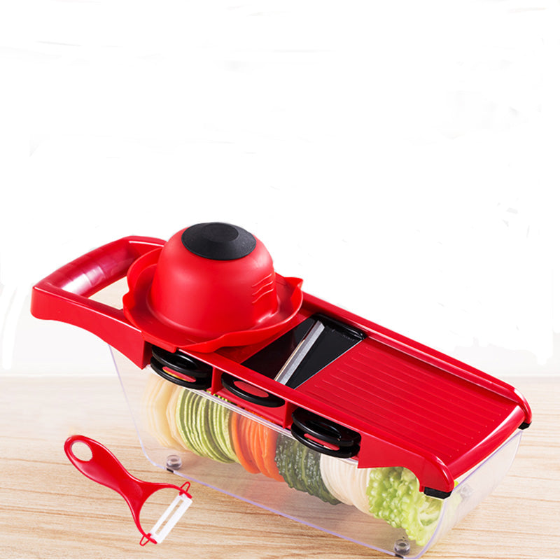 Mandoline Slicer Vegetable Cutter Manual Potato Peeler Carrot Grater Dicer Kitchenware Accessories Style L