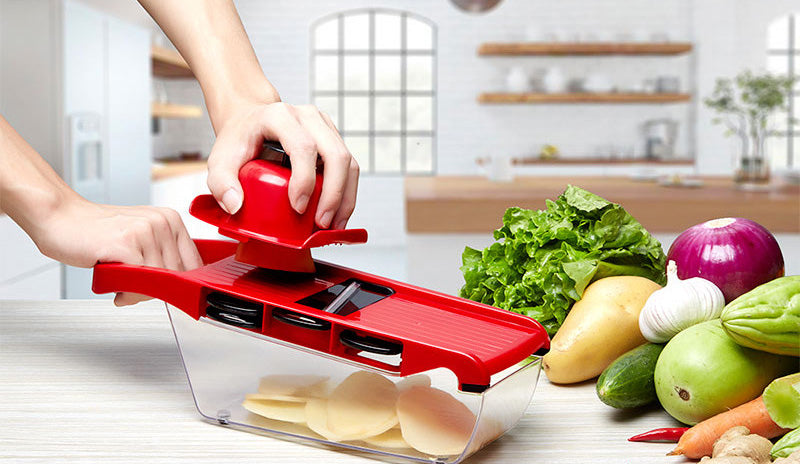 Mandoline Slicer Vegetable Cutter Manual Potato Peeler Carrot Grater Dicer Kitchenware Accessories Style K