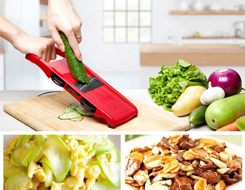 Mandoline Slicer Vegetable Cutter Manual Potato Peeler Carrot Grater Dicer Kitchenware Accessories Style G