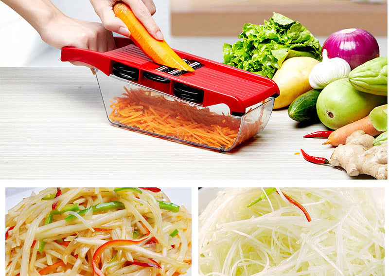Mandoline Slicer Vegetable Cutter Manual Potato Peeler Carrot Grater Dicer Kitchenware Accessories Style J