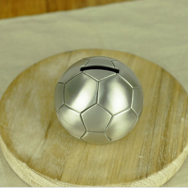 Japanese TOKYO2020 Metal Football Coin Piggy Bank Cash Money Box Soccer Gift Child Piggy Banks Japan 2020 Tokyo Olympics