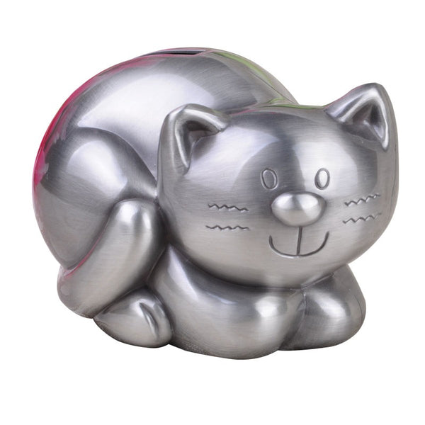 Cute Tabby Cat Coin Piggy Bank Money Savings Box Coin Piggy Bank Cash Boxes Child Kids Gift Home Decoration Accessories Style