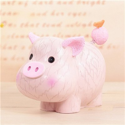 Pig Animal Coin Piggy Bank Money Savings Box Coin Piggy Bank Cash Boxes Child Kids Gift Home Decoration Accessories Style H