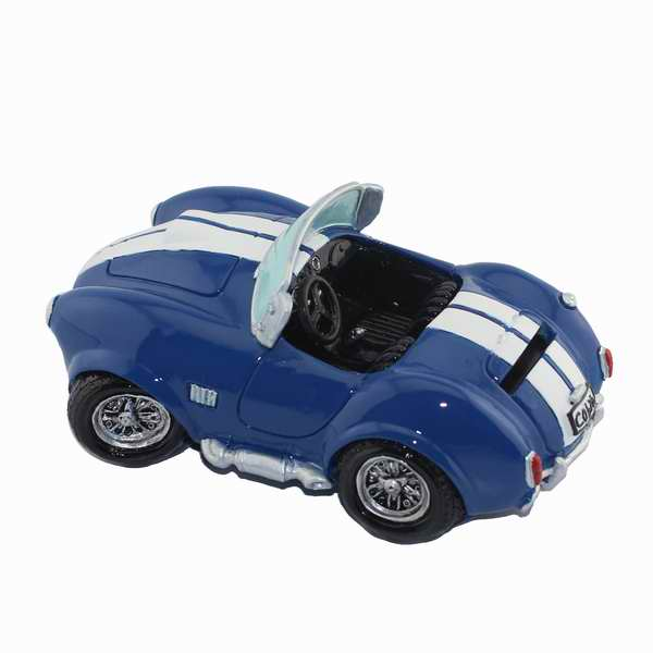 Vintage Blue Roadster Sports Car Coin Piggy Bank Money Savings Box Coin Piggy Bank Cash Boxes Child Kids Gift Home Decoration Accessories Style G