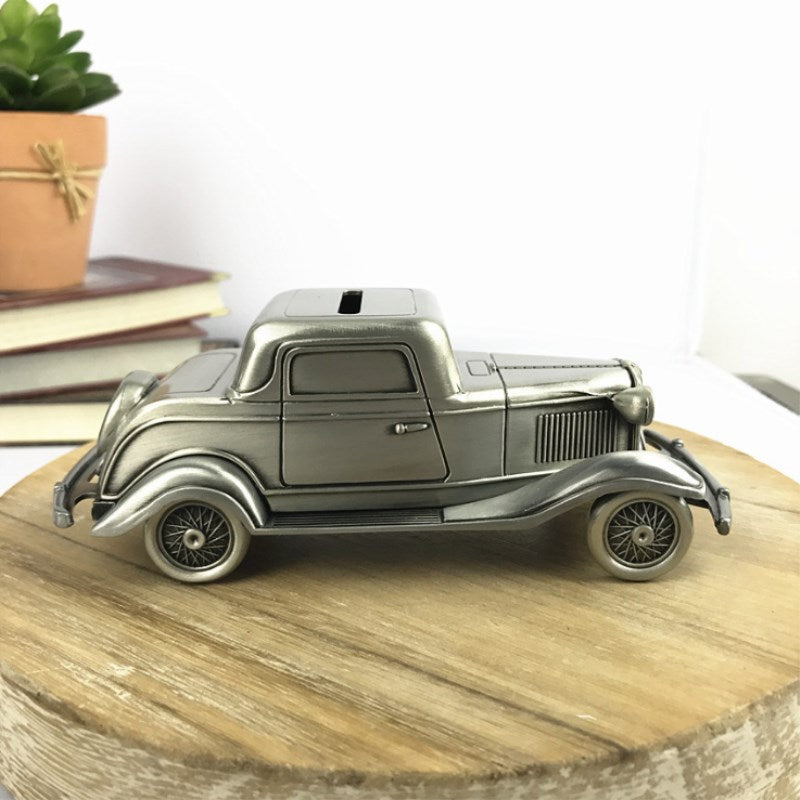 Classic American Car Coin Money Box Money Savings Coin Piggy Bank Cash Box Gift Home Decoration Accessories Style A