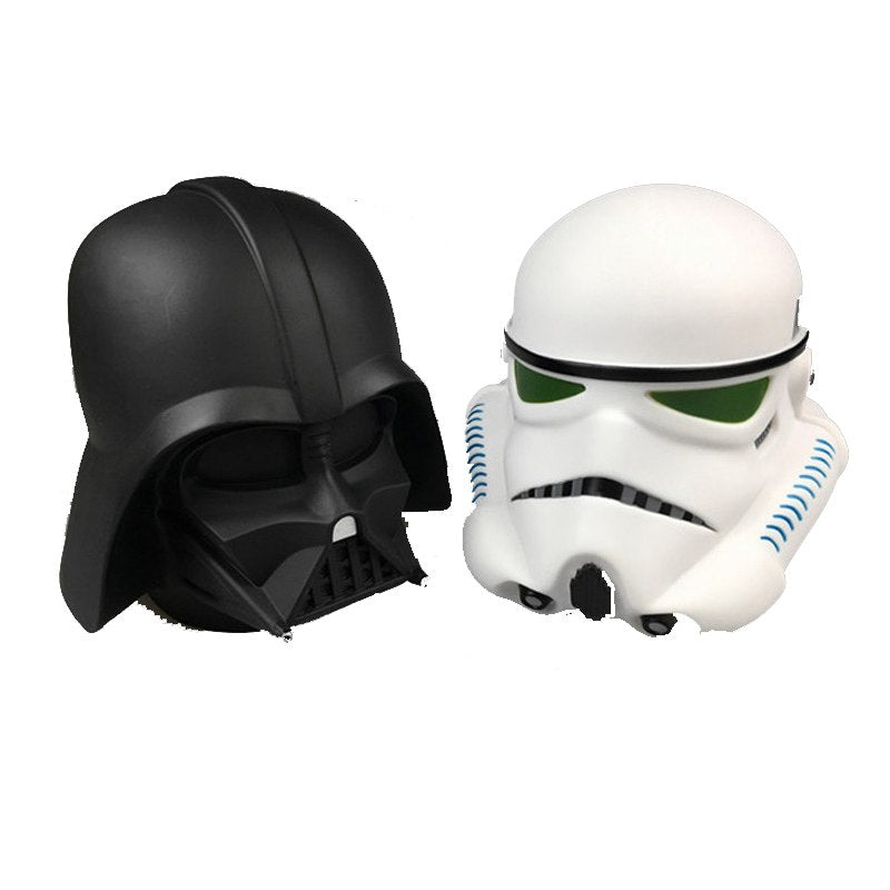 3D Vinyl Darth Vader Stormtrooper Coin Piggy Bank Money Savings Box Coin Piggy Bank Cash Boxes Child Kids Gift Home Decoration Accessories Style B