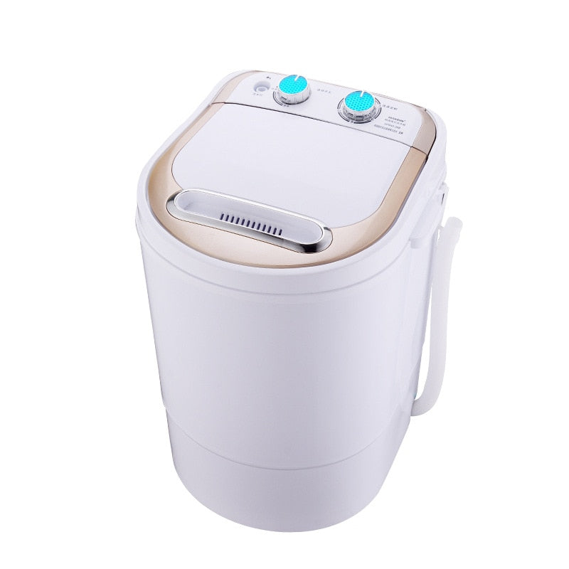 4.0kg Electric Mini Washing Machine Top Loading Semi Automatic Washer Dryer Kitchen Household Appliance Style B