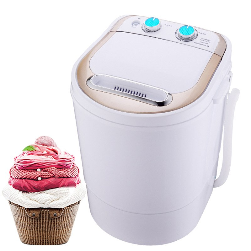 4.0kg Electric Mini Washing Machine Top Loading Semi Automatic Washer Dryer Kitchen Household Appliance Style A