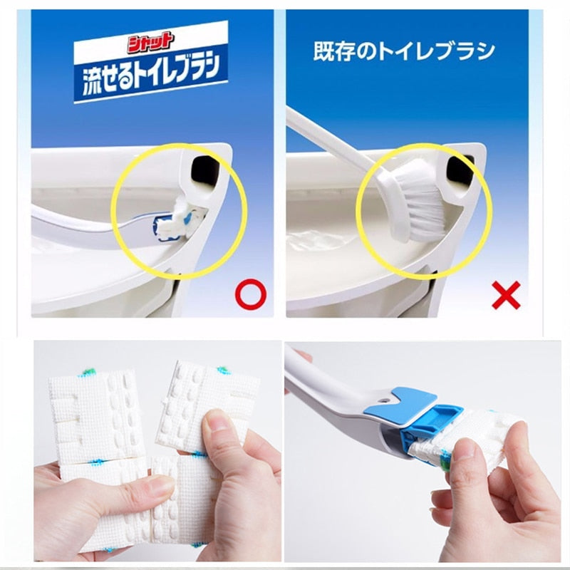 Japanese Disposable Toilet Brush