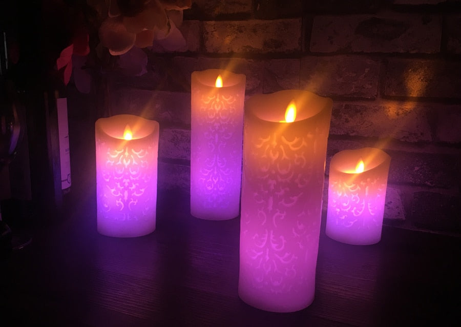 Remote control Color Change Gradient LED Candles
