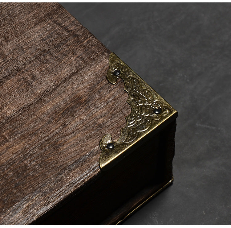Wooden Puer Tea Drawer Cabinet Retro Tea Box Kung Fu Tea Accessories Wood Drawer Storage Containers Style Traditional