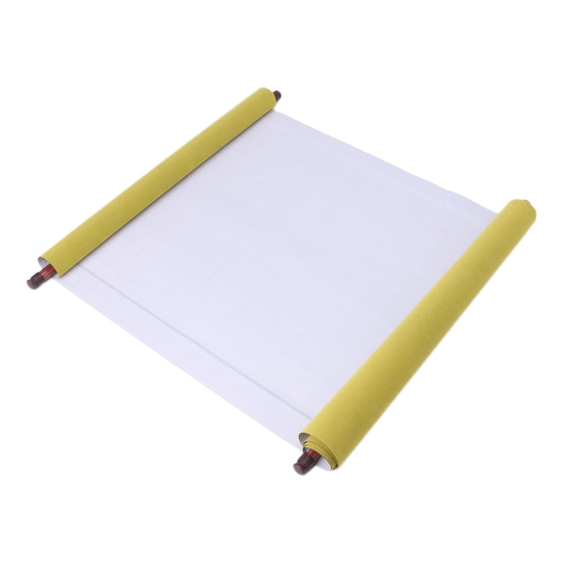 Reusable 1.5m Chinese Magic Scroll Cloth Water Paper Calligraphy Fabric Craft Book Notebook