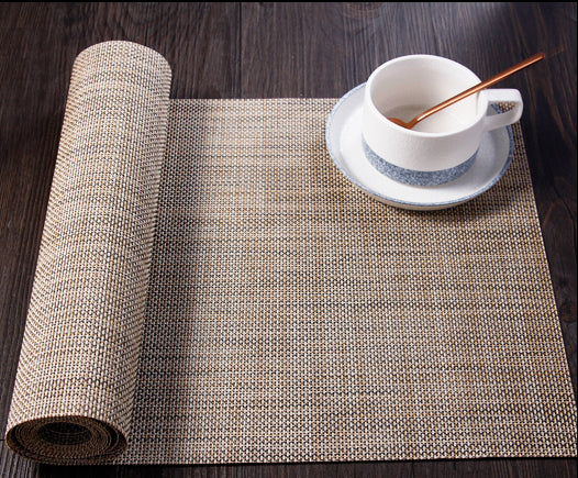 Elegant Japanese Table Runner PVC Coffee Table Mat Modern Minimalist Table Fashion Personality Japan Home Living Room Table Flag Linen Accessories